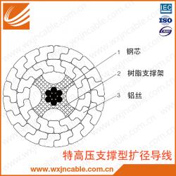 特高压支撑型扩经导线 裸导线 架空导线 平面结构图 无锡江南电缆有限公司 江苏省无锡宜兴电缆厂家