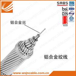 铝合金绞线 JLHA(AAAC) 结构图 裸导线 SABS认证 无锡江南电缆有限公司 五彩品牌 江苏省无锡宜兴电缆厂家 出口品质