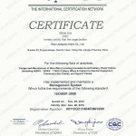 ISO 9001 Of IQNeT