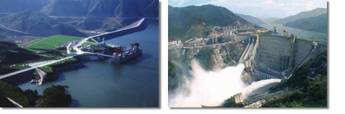 Hydropower station projects